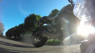 test ligne scorpion serket yamaha MT 07 avec DB killer