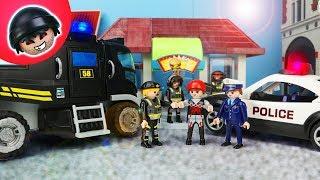 SEK Einsatz in Pandido City! Playmobil Polizei Film - KARLCHEN KNACK #186