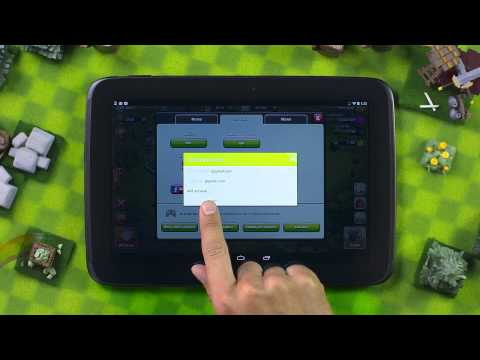 Clash Of Clans - Android (save Your Village With Google+)