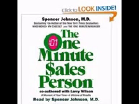 One Minute Sales Person | Audio book| Spencer Johnson with Larry Wilson