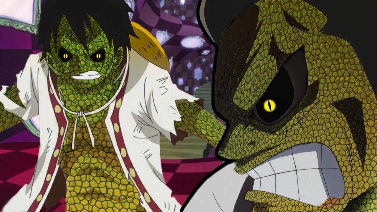 Luffy's Snakeman