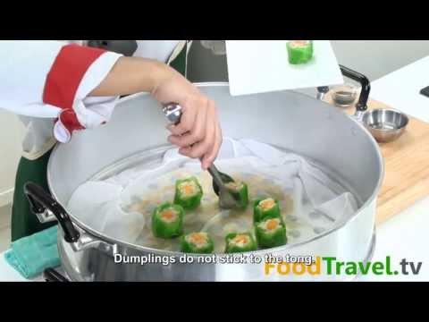 [Thai Food] Steamed Crab Dumpling (Ka Nom Jeeb Pu)