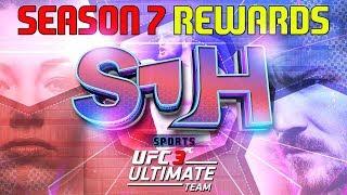 EA SPORTS UFC 3 - Ultimate Team - SEASON 7 REWARDS