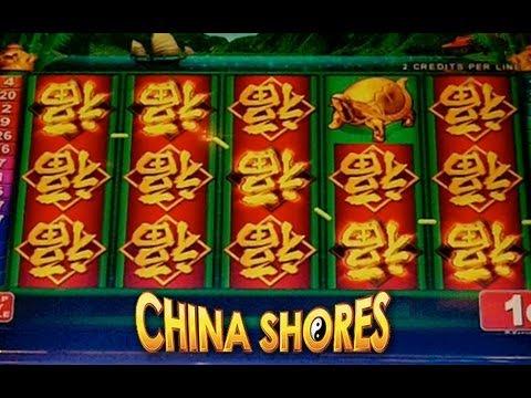 Konami - China Shores - Slot Machine Bonus - **NICE WIN**