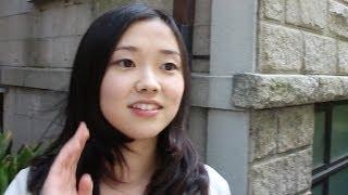 Япония. Интервью с милой студенткой. Учеба, поиск работы, парень, семья