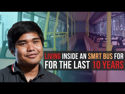 This Man Was Living Inside A Public Bus for the Last 10 Years