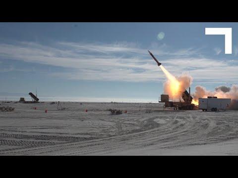Próba w locie zintegrowanego systemu dowodzenia obron powietrzn IBSC firmy Northrop Grumman