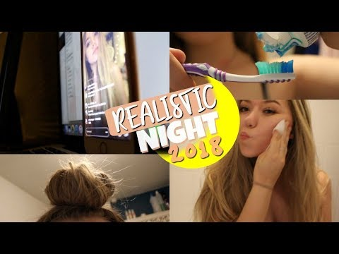 MY REALISTIC SUMMER NIGHT ROUTINE 2018 // Emmie Alice