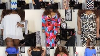 PLUS SIZE TRY ON! MASSIVE... CHINESE BASED AND WHOLESALE