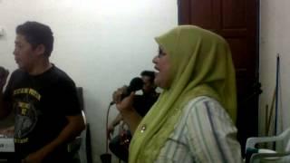 Practice lagu Taman firdausi /Hancur badan