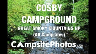 Gatlinburg east / smoky mountain koa holiday is located in cosby,. Cosby Campground Great Smoky Mountains National Park Tn Youtube