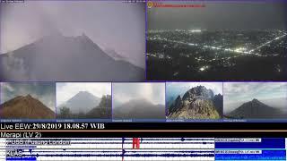 29/8/2019 - Mt Merapi TimeLapse