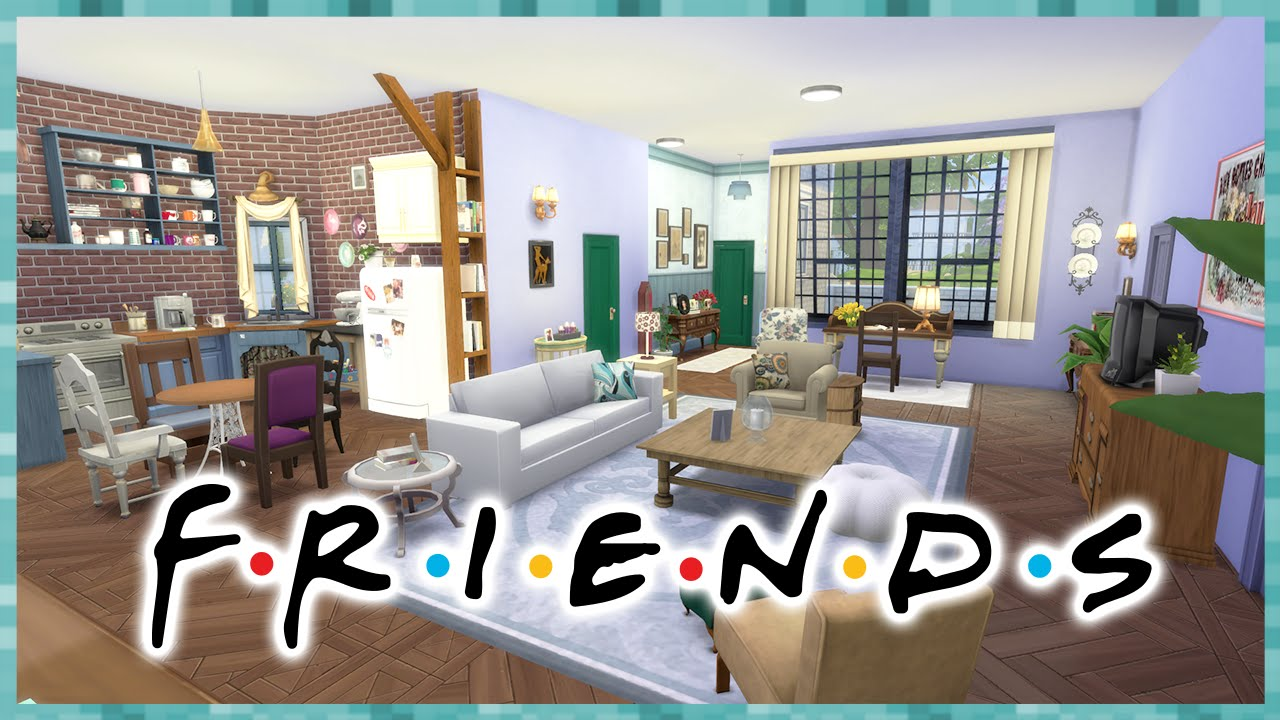 The Sims 4 APARTAMENTO FRIENDS House Building