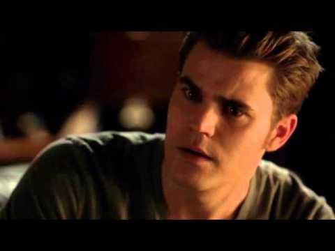 Caroline tells Stefan about Elena and Damon    (The Vampire Diares 4x09: O  Come, All Ye Faithful)