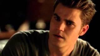 Caroline tells Stefan about Elena and Damon... (The Vampire Diares 4x09: O Come, All Ye Faithful)