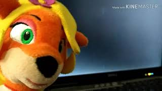 Plush gaming,Crash bandicoot plays Sonic.exe