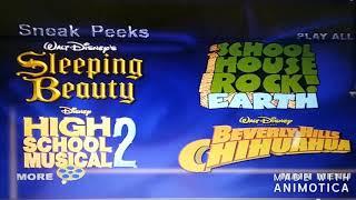 Sneak peeks menus (2004, 05,06,07,08,09,2010)
