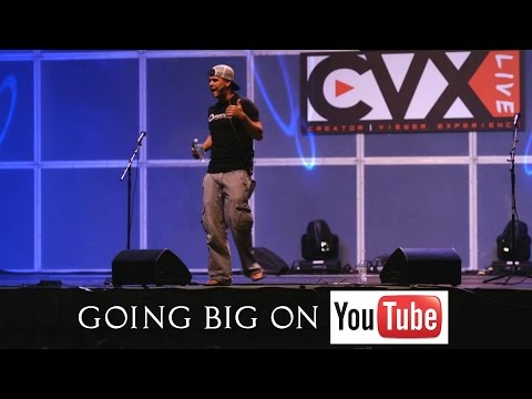 Making a Living on Youtube - Public Speaking with Devin Graham at CVXLIVE