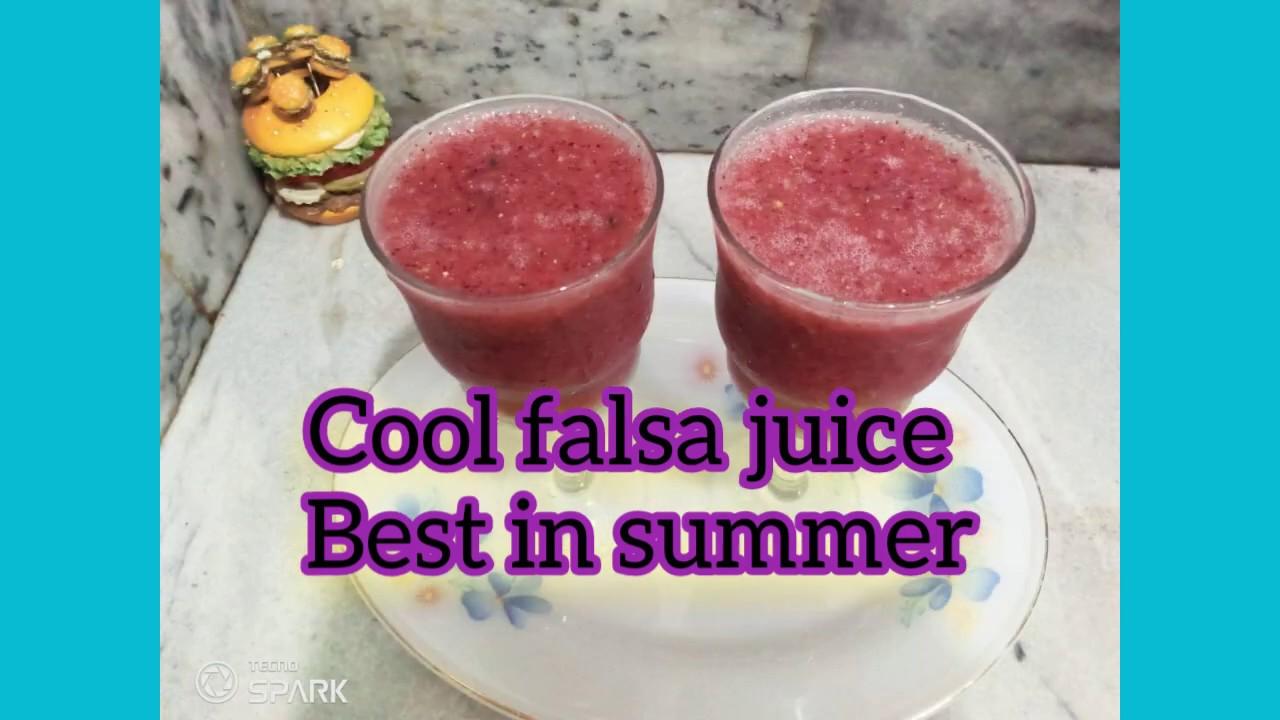 Cool cool falsa juice. Best in summer.