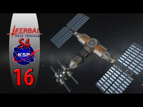 Kerbal Space Program S4[Af16] - Minmus Refueling Station!