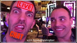 🔴 LIVE CHAT with Casino n Slots Host, Brian Christopher ✦ BCSlots.com ✦ Slot Fruit Pokie Machines