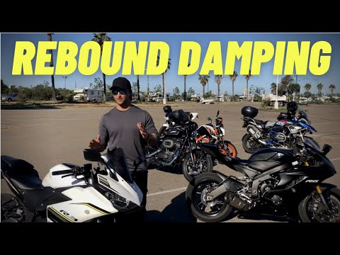 How To Adjust The Rebound Damping On A Motorcycle! ~ MotoJitsu