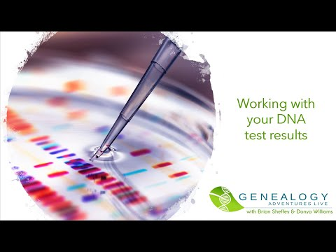 S01 E02: Working with your DNA test results