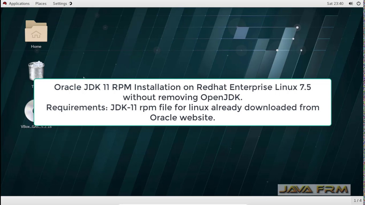 Oracle JDK 11 RPM Installation on Redhat Enterprise Linux 7 5 without  removing OpenJDK