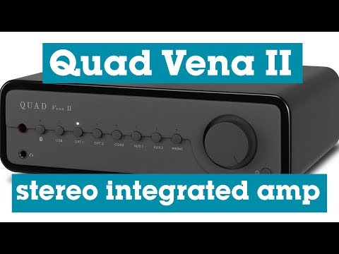 Quad Vena II Stereo Integrated Amplifier | Crutchfield