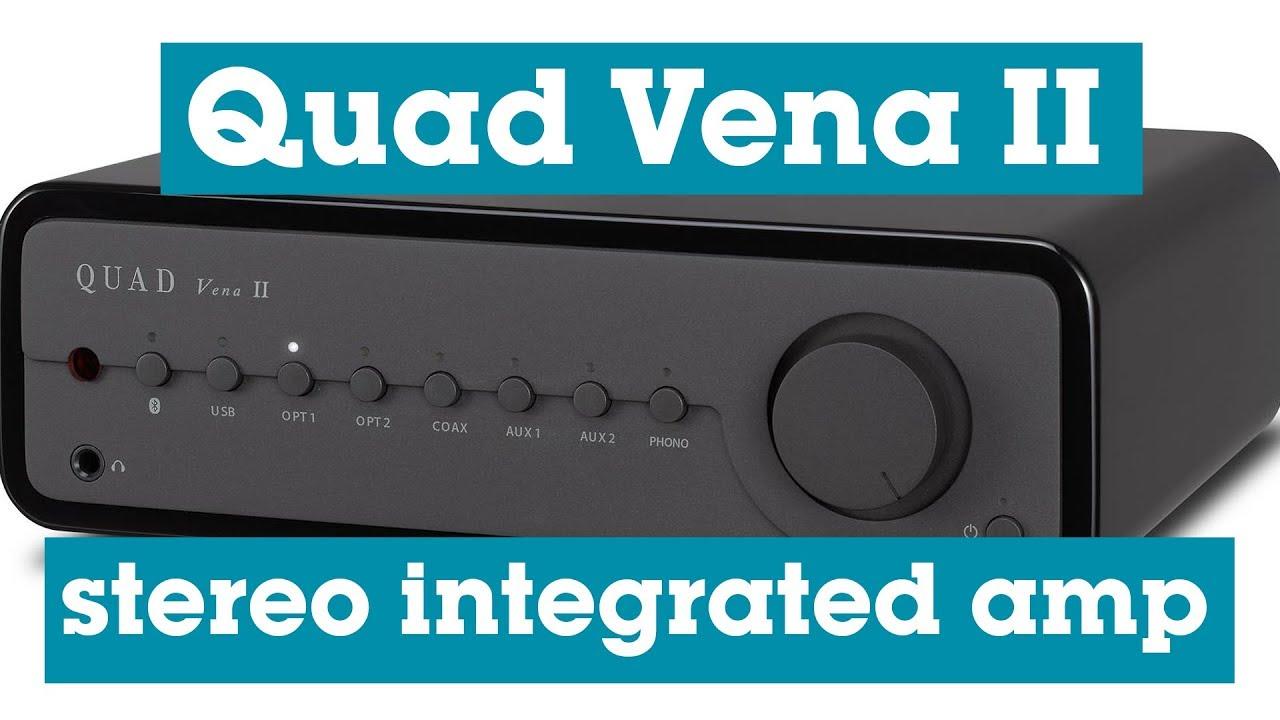 Quad Vena II stereo integrated amplifier | Crutchfield