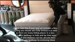 How to Properly Install a Bed Bug Proof Mattress Cover(, 2012-10-02T21:52:47.000Z)