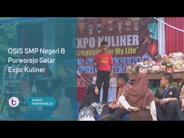 OSIS SMP Negeri 8 Purworejo Gelar Expo Kuliner