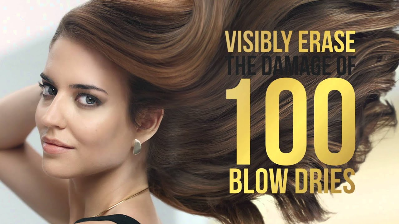Erase the Damage of 100 Blow Dries with Pantene Repair & Protect - YouTube