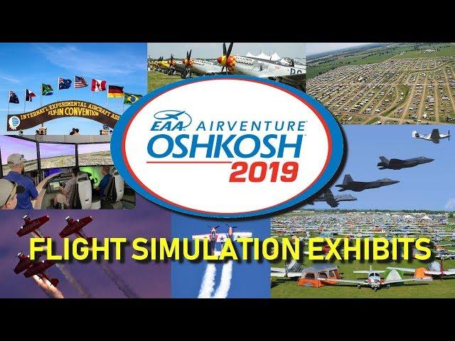 AirVenture 2019 Simulator Exhibits