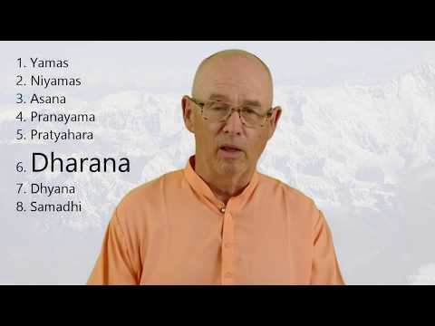 Dharana, Rung 6 of 8, from Yoga Sutra 3.1