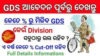 Odisha Gramin Dak Sevak Cut off 2020 ! Odisha Postal Recruitment 2020 Online Apply ! Odisha Job !