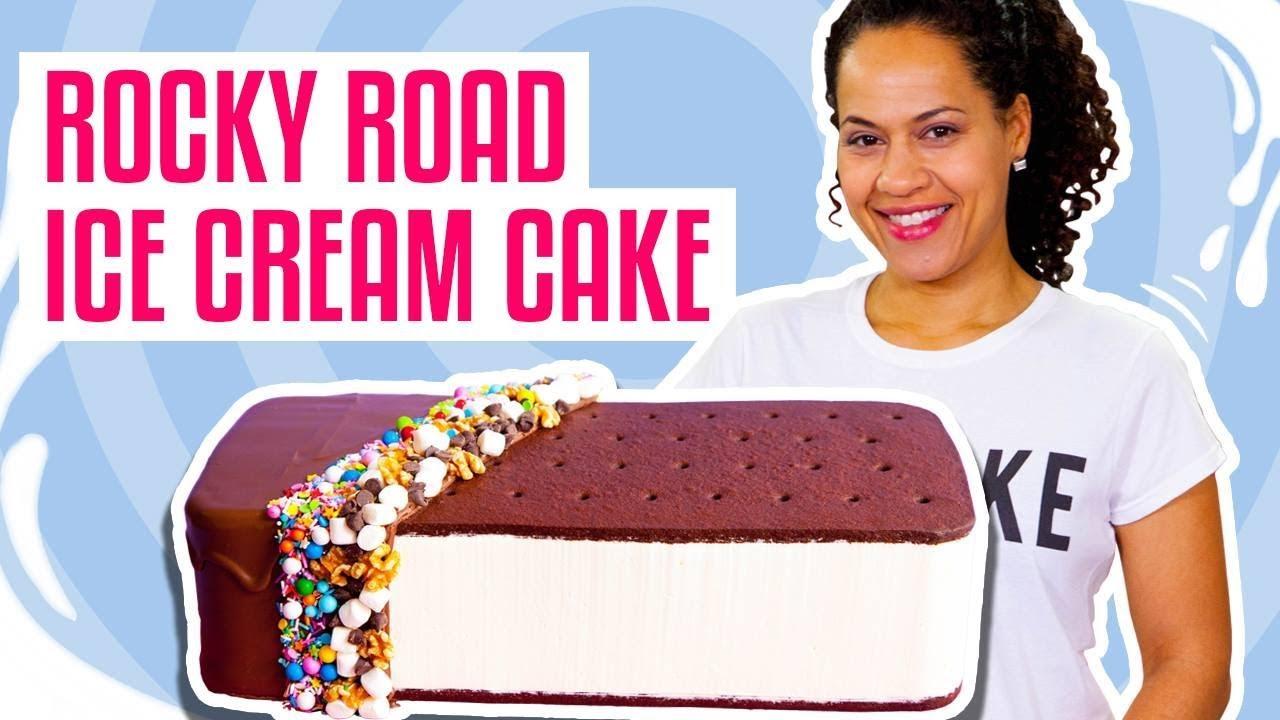 Yolanda Gampp Ice Cream Cake