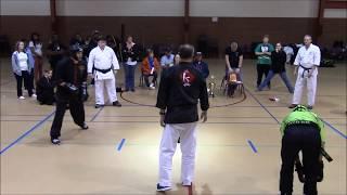Mississippi Karate Association Black Belt Fight: Kung-fu, Taekwondo & TangSooDo