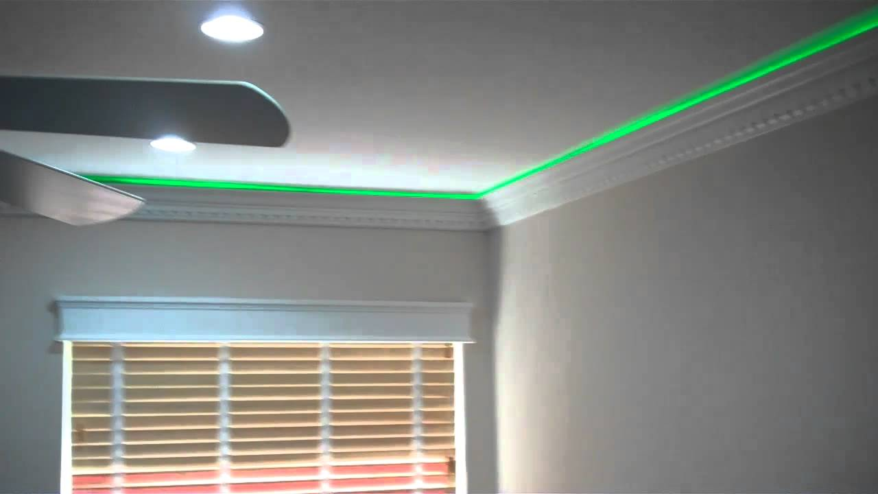 more crown moulding with led lights