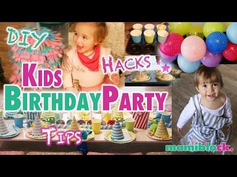 Kindergeburtstag   Die Besten Tipps - Hacks - DIYs    Mamiblock