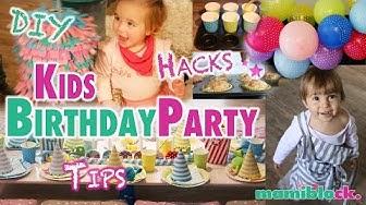 Kindergeburtstag | Die besten Tipps - Hacks - DIYs |  mamiblock