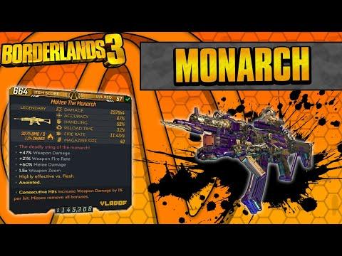 Borderlands 3 | Monarch Legendary Weapon Guide (Insane Dictator 2.0)