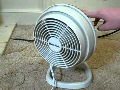Holmes 6inch Oscillating Table Fan