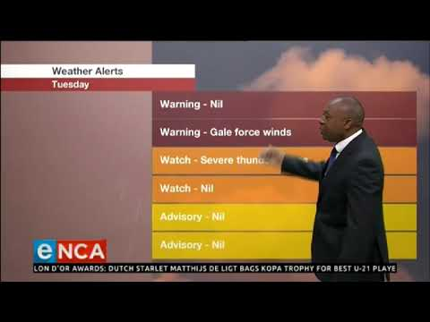 Weather Forecast 3 December 2019