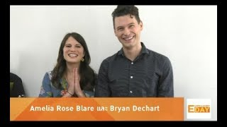 Entertainment Day 200861 : Bryan Dechart และ Amelia Rose Blare ร่วมงาน PlayStation Experience 2018