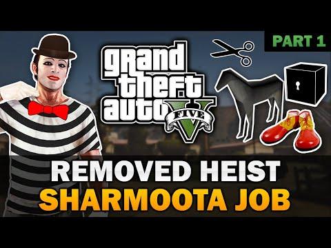 "GTA V - ""The Sharmoota Job"" Cut Heist [In-depth Analysis] [Part 1]"