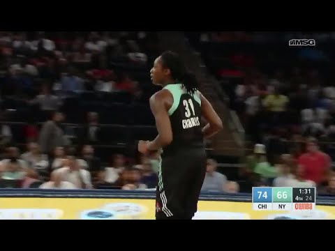 Tina Charles posts 23 points & 19 rebounds vs. the Sky