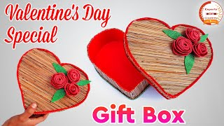 How to make a Heart❤️ Shape Box | Love Gift Box | Heart Gift Box for Valentine's Day |Gift Box Ideas