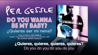 Watch Per Gessle Do You Wanna Be My Baby video