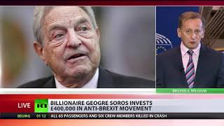 George Soros donates £400,000 to anti-Brexit campaign